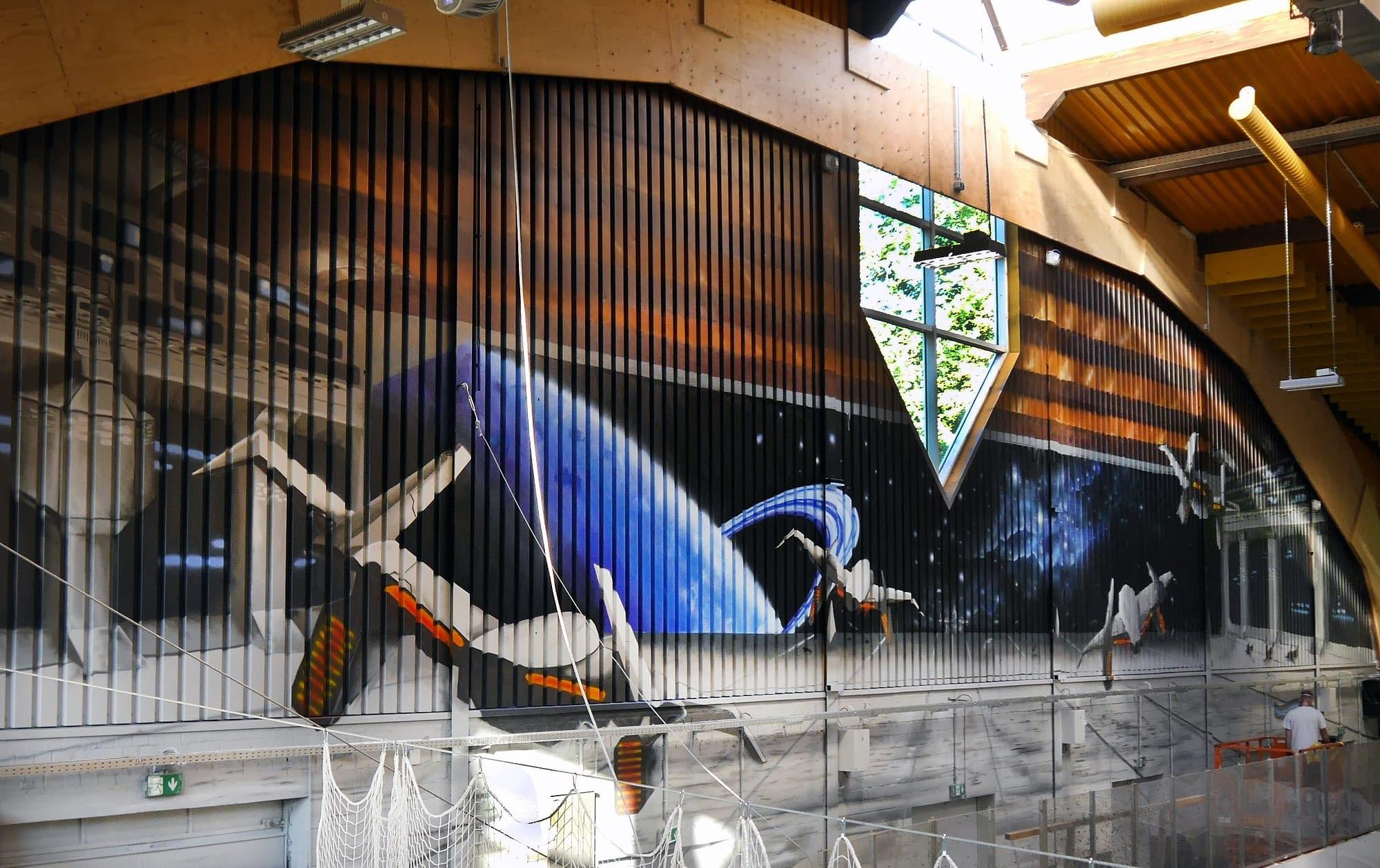 Eishalle Moers Graffiti