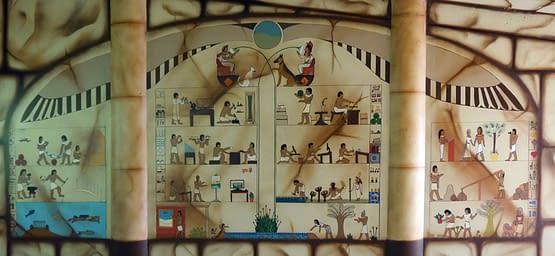 Ägyptische Hieroglyphen NaturaGart