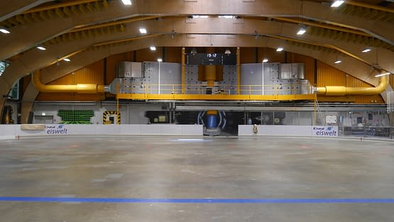 Moers Eishalle- Reaktor